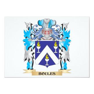 Escudo de armas de los Boules Invitaciones Personales