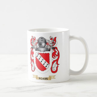 Escudo de armas de los caminos (escudo de la famil tazas de café