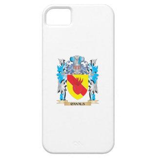 Escudo de armas de los canales - escudo de la iPhone 5 fundas