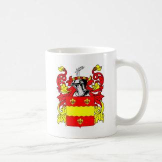 Escudo de armas de los catetos taza de café