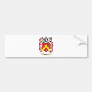 Escudo de armas de los chiles pegatina de parachoque