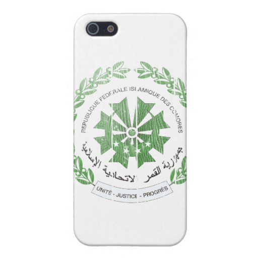 Escudo de armas de los Comoro iPhone 5 Funda