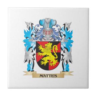 Escudo de armas de los mates - escudo de la tejas