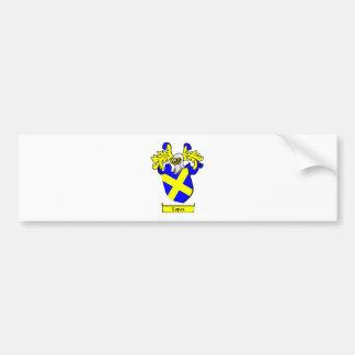 Escudo de armas de los MEDIOS GALOPES Pegatina De Parachoque
