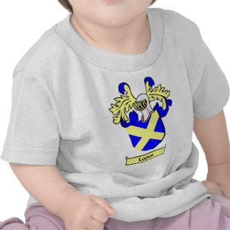 Escudo de armas de los MEDIOS GALOPES Camisetas