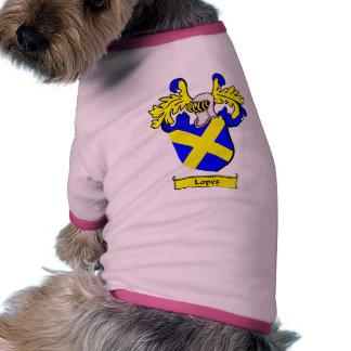 Escudo de armas de los MEDIOS GALOPES Ropa Perro
