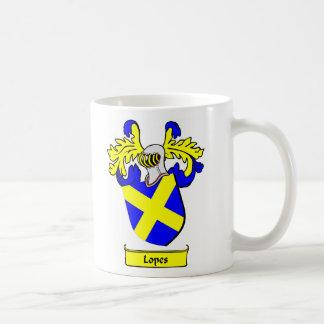 Escudo de armas de los MEDIOS GALOPES Tazas De Café