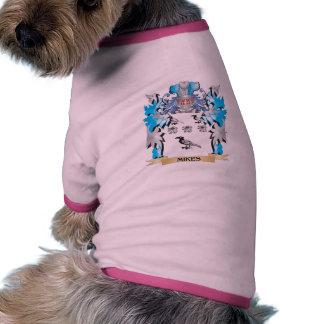 Escudo de armas de los micrófonos - escudo de la camisa de perro