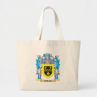 Escudo de armas de los montantes - escudo de la bolsas