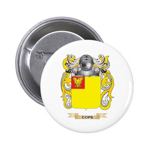 Escudo de armas de los polis pins