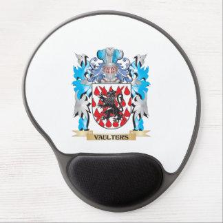 Escudo de armas de los saltadores - escudo de la alfombrillas de raton con gel
