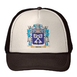 Escudo de armas de los sujetadores gorras de camionero