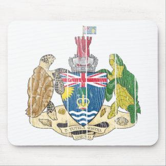 Escudo de armas de los territorios del Océano Índi Alfombrilla De Ratón