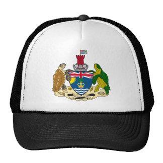 Escudo de armas de los territorios del Océano Índi Gorras De Camionero