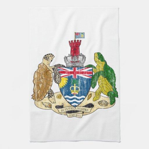 Escudo de armas de los territorios del Océano Índi Toalla