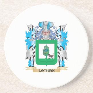 Escudo de armas de Lothian - escudo de la familia Posavasos Personalizados