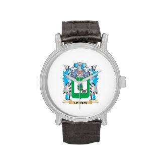 Escudo de armas de Lothian - escudo de la familia Reloj