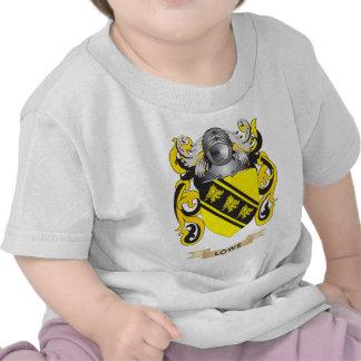 Escudo de armas de Lowe (escudo de la familia) Camiseta