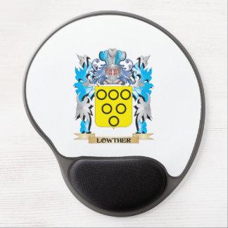 Escudo de armas de Lowther - escudo de la familia Alfombrilla Gel