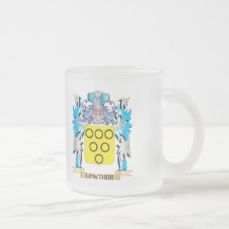 Escudo de armas de Lowther - escudo de la familia Taza Cristal Mate