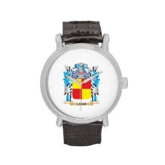 Escudo de armas de Lucio - escudo de la familia Reloj De Mano