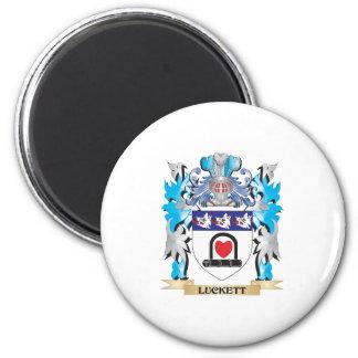 Escudo de armas de Luckett - escudo de la familia Iman De Nevera