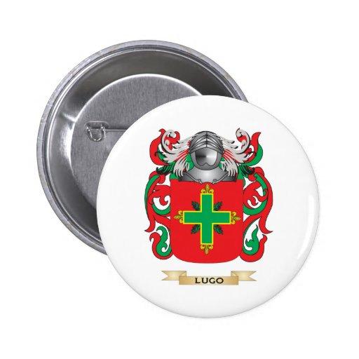Escudo de armas de Lugo (escudo de la familia) Pin