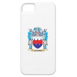 Escudo de armas de Lunardi - escudo de la familia iPhone 5 Protectores
