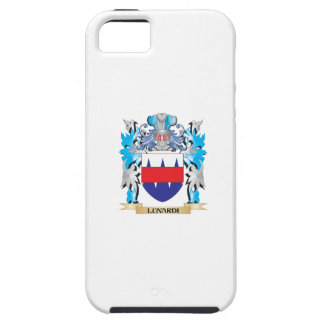 Escudo de armas de Lunardi - escudo de la familia iPhone 5 Case-Mate Cárcasas