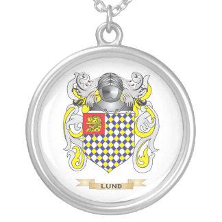 Escudo de armas de Lund (escudo de la familia) Colgante Redondo