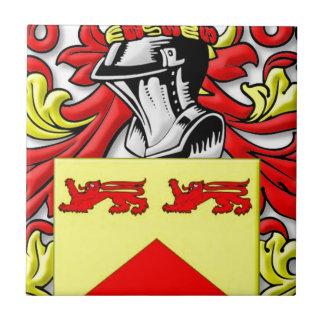 Escudo de armas de Lundie Azulejo Cerámica