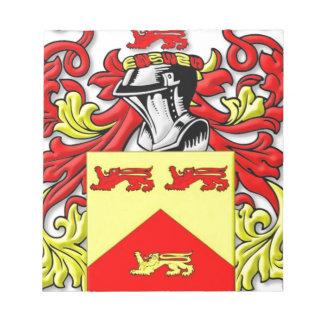 Escudo de armas de Lundie Blocs De Notas