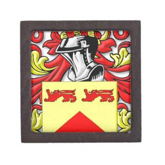 Escudo de armas de Lundie Cajas De Joyas De Calidad