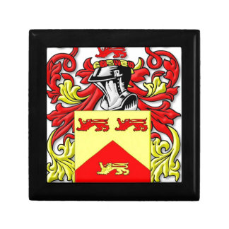 Escudo de armas de Lundie Cajas De Recuerdo