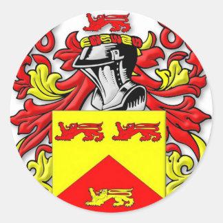 Escudo de armas de Lundie Etiquetas