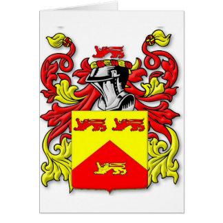 Escudo de armas de Lundie Felicitación