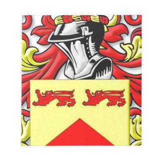 Escudo de armas de Lundie Libreta Para Notas