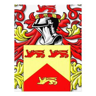 Escudo de armas de Lundie Membrete