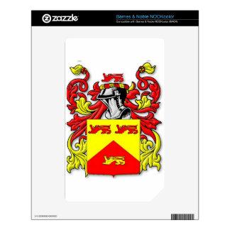 Escudo de armas de Lundie NOOK Color Skin
