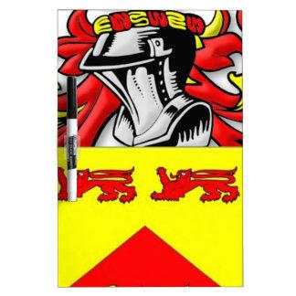 Escudo de armas de Lundie Pizarra
