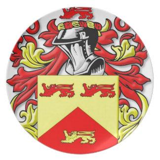 Escudo de armas de Lundie Platos