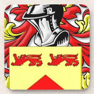 Escudo de armas de Lundie Posavasos De Bebidas
