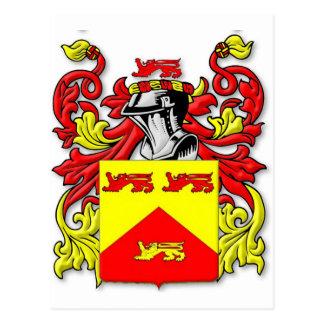 Escudo de armas de Lundie Tarjeta Postal