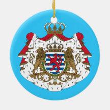 Escudo de armas de Luxembourg* Ornamento Para Reyes Magos