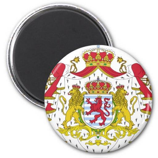 Escudo de armas de Luxemburgo Imán