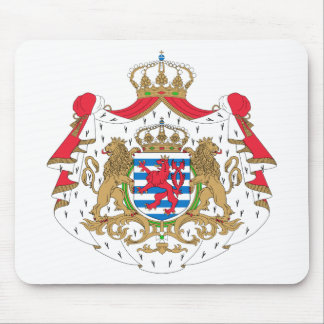 Escudo de armas de Luxemburgo Tapete De Ratones
