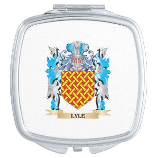 Escudo de armas de Lyle - escudo de la familia Espejo De Maquillaje