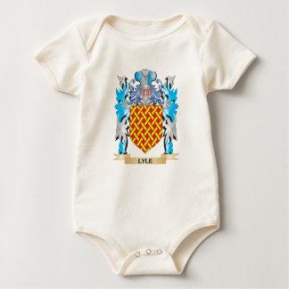 Escudo de armas de Lyle - escudo de la familia Traje De Bebé