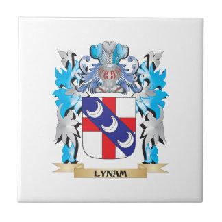 Escudo de armas de Lynam - escudo de la familia Teja Ceramica