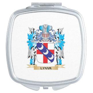 Escudo de armas de Lynam - escudo de la familia Espejos De Viaje